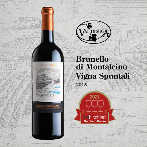 Vigna Spuntali 2015 achieves a Tre Bicchieri rating from Gambero Rosso