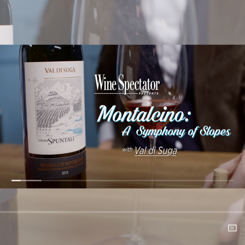 Val di Suga, a video-interview with Wine Spectator