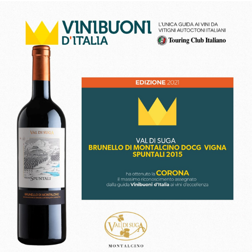 Brunello Vigna Spuntali 2015 wins the Corona!