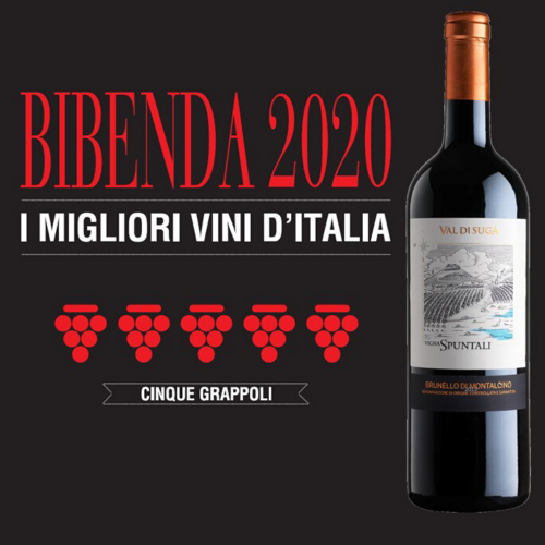 Vigna Spuntali wins the 5 Grappoli in Bibenda 2020