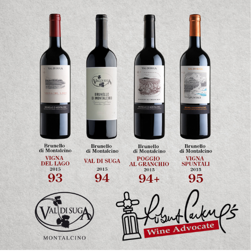 The scores from Wine Advocate…worth waiting for!